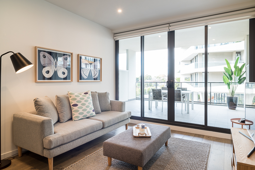 Lounge area at Sandy Hill Apartments