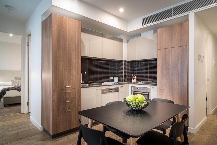 Kitchen facilities at Sandy Hill Apartments