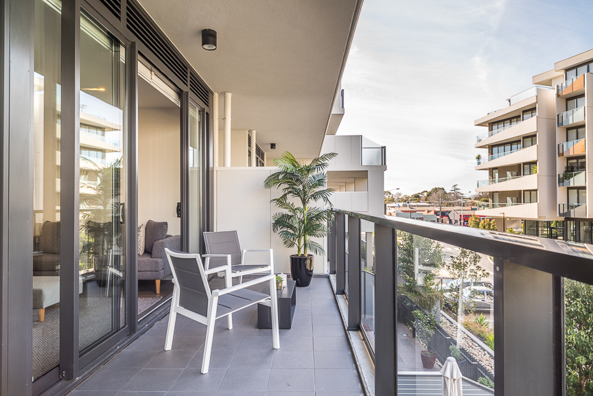 Balcony at Sandy Hill Apartments