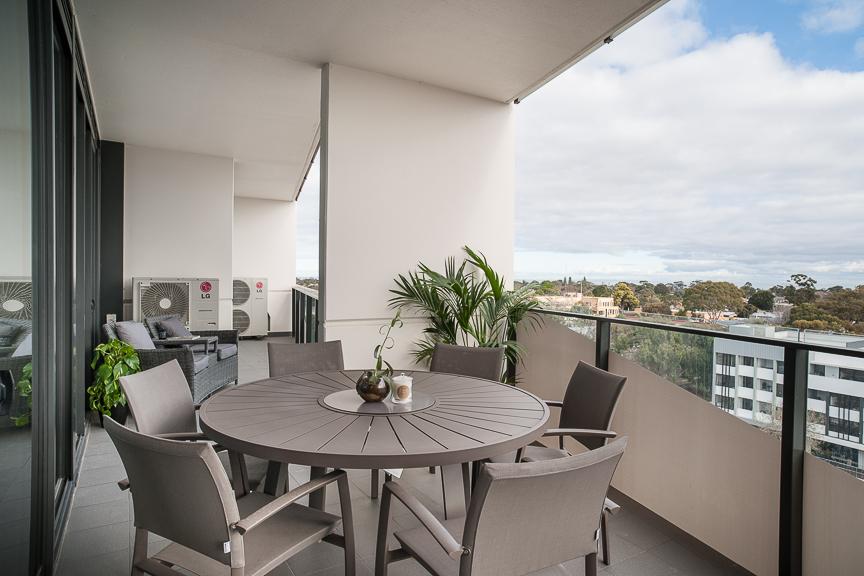 Balcony atra at Sandy Hill Apartments