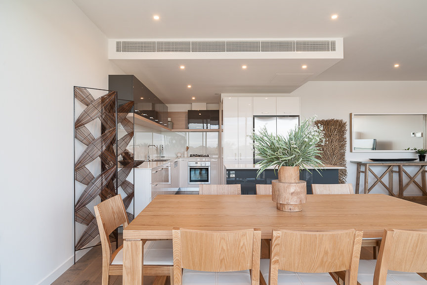 Dining table at Sandy Hill Apartments