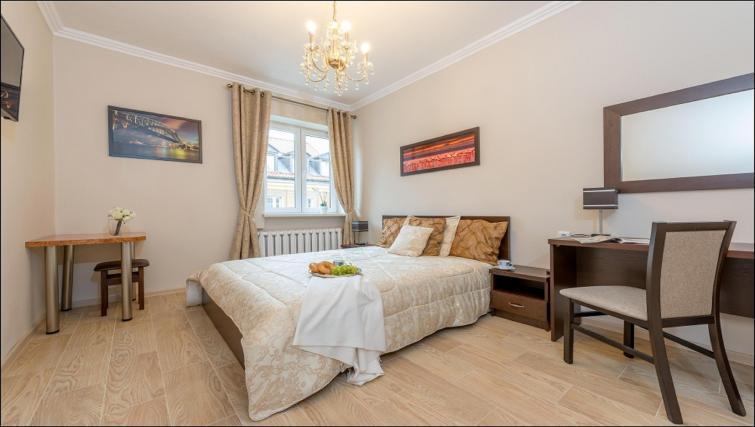 Bedroom at Freta 2 Apartment, Centre, Warsaw