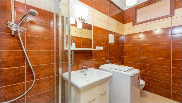 Shower at Freta 2 Apartment, Centre, Warsaw