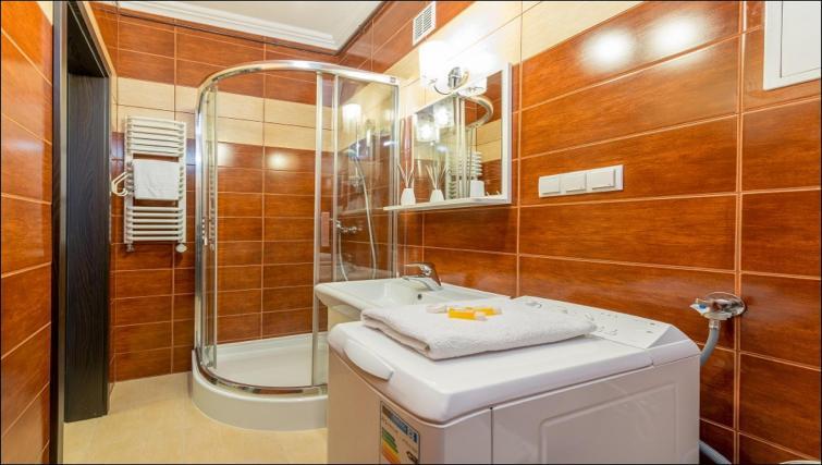 Bathroom at Freta 2 Apartment, Centre, Warsaw