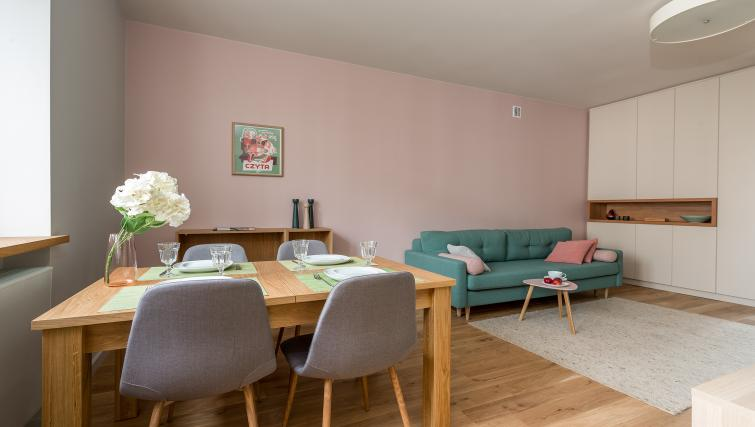 Living area at Gorskiego Apartment, Centre, Warsaw