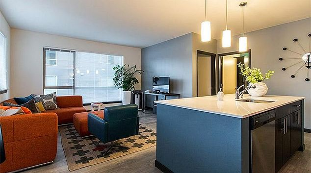 Homely living area at Liv Apartment