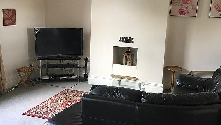 Comfortable living area at Barrington House