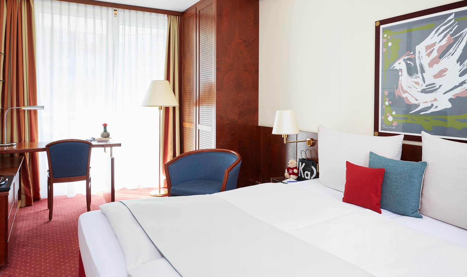 Bedroom at Living Hotel Weißensee Apartments, Weisensee, Berlin