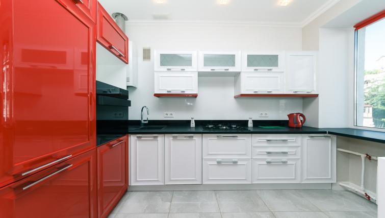 Kitchen at Darvina Apartment
