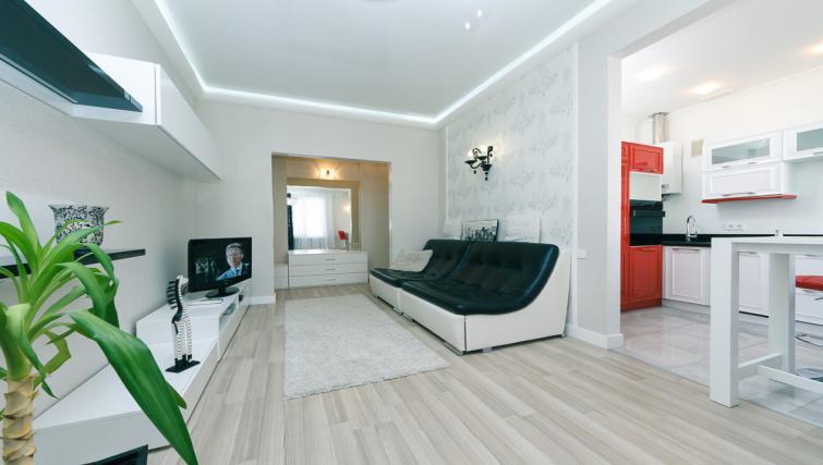 Living area at Darvina Apartment