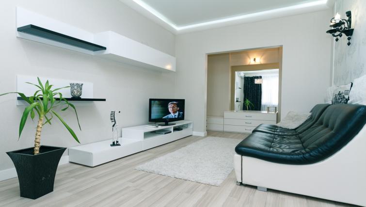 Living room at Darvina Apartment