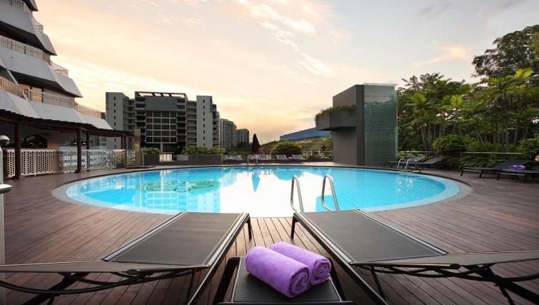 Pool at Village Hotel Katong, Singapore