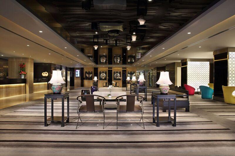Lobby at Village Hotel Katong, Singapore