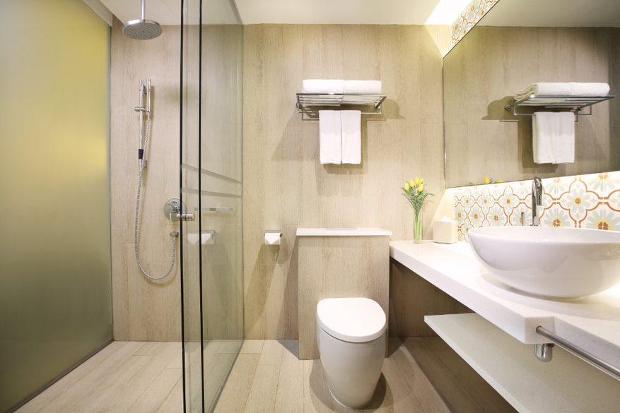 Bathroom at Village Hotel Katong, Singapore