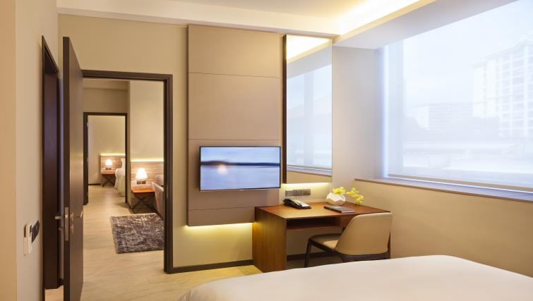 Bedroom view at Louis Kienne Serviced Residences, Singapore