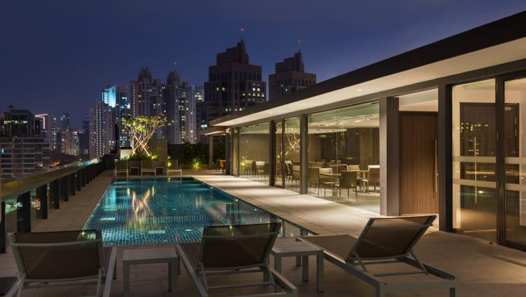 Pool at Louis Kienne Serviced Residences, Singapore