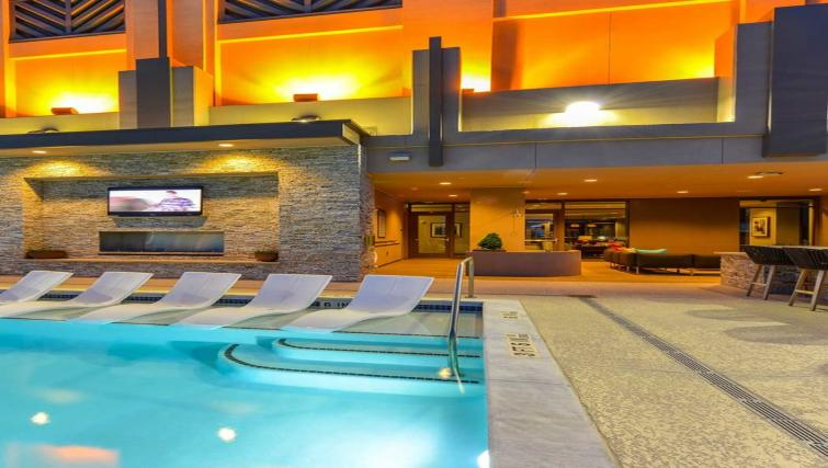 Swimming pool at Atlantic House Atlanta