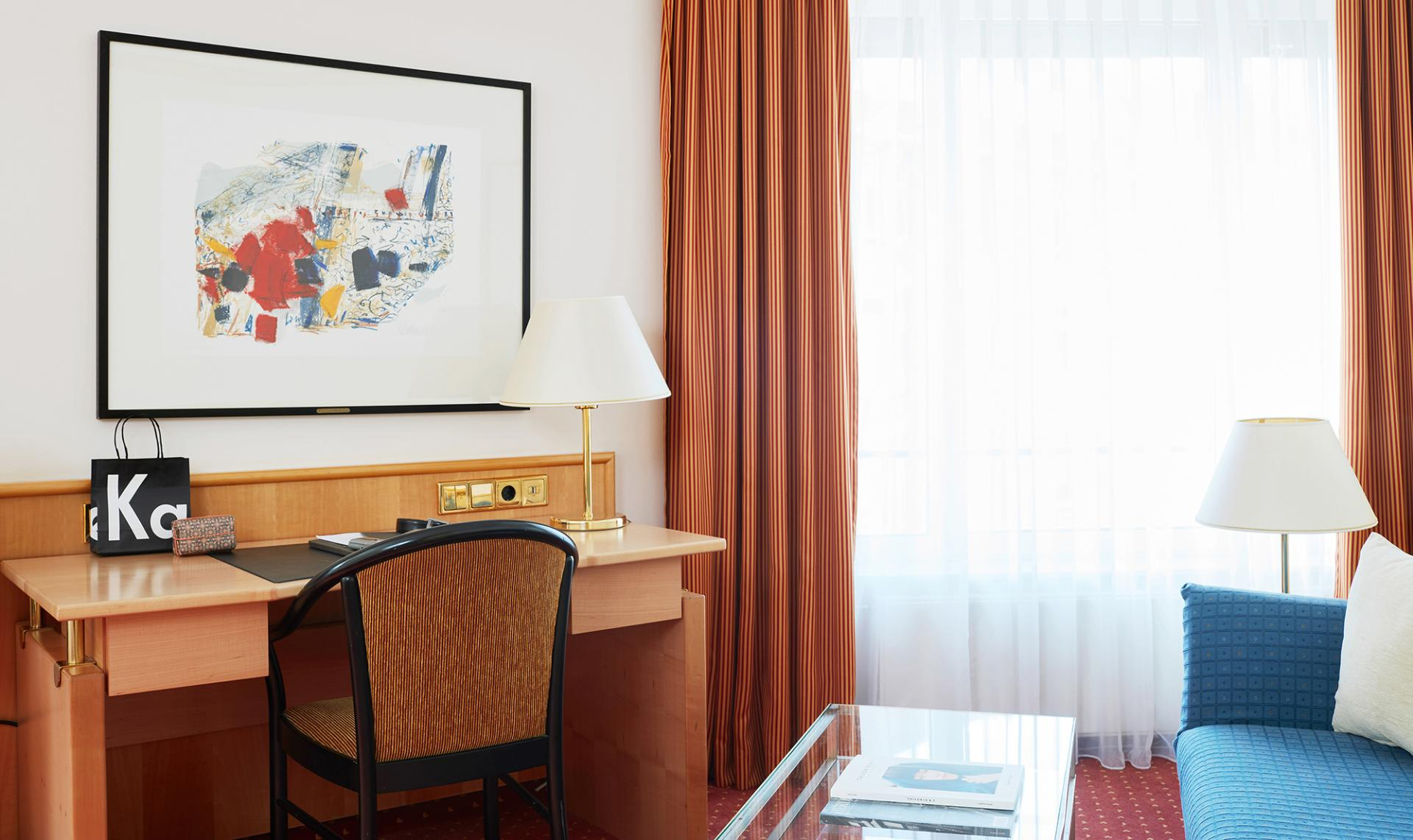 Study at Living Hotel Grosser Kurfurst Apartments, Berlin Mitte, Berlin