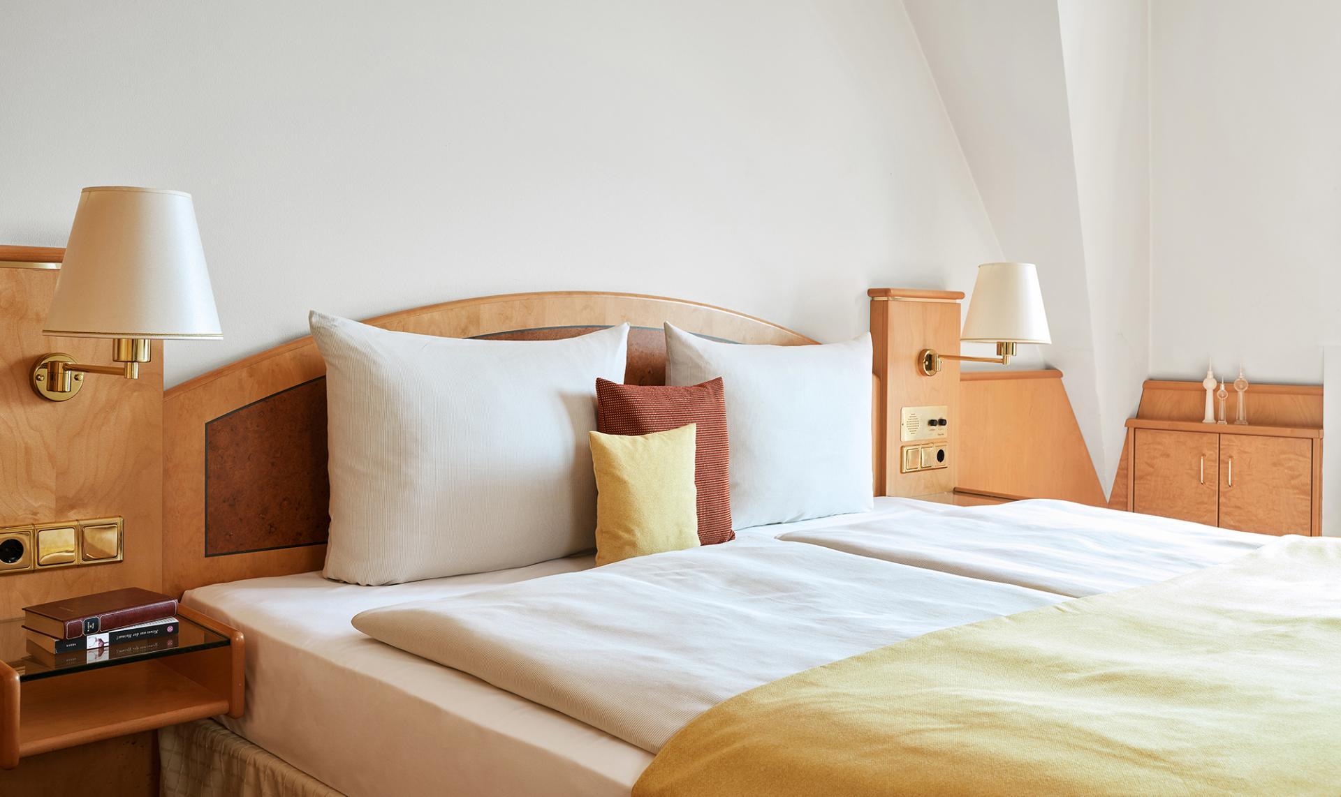 Bedroom at Living Hotel Grosser Kurfurst Apartments, Berlin Mitte, Berlin