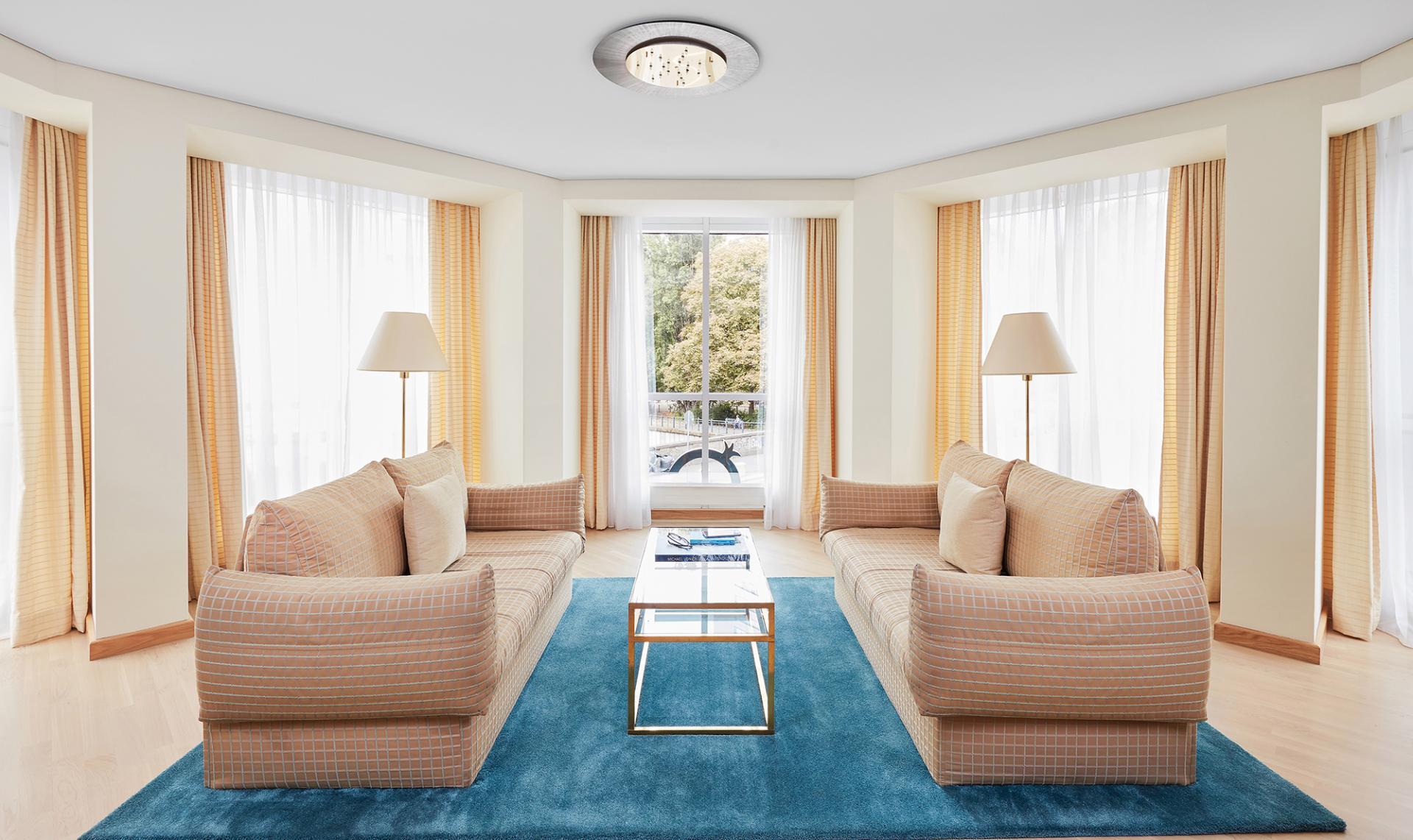 Living area at Living Hotel Grosser Kurfurst Apartments, Berlin Mitte, Berlin