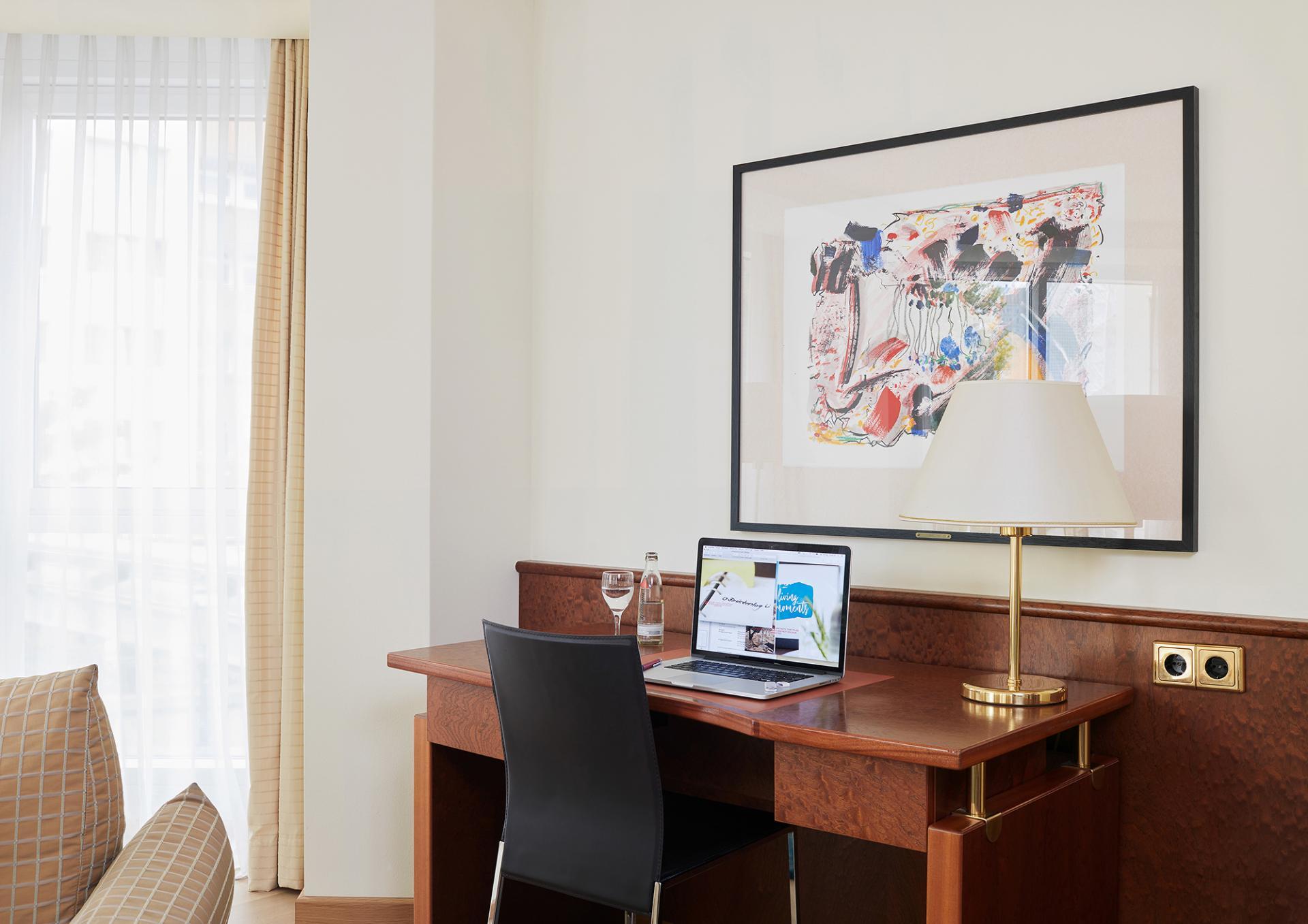 Laptop space at Living Hotel Grosser Kurfurst Apartments, Berlin Mitte, Berlin