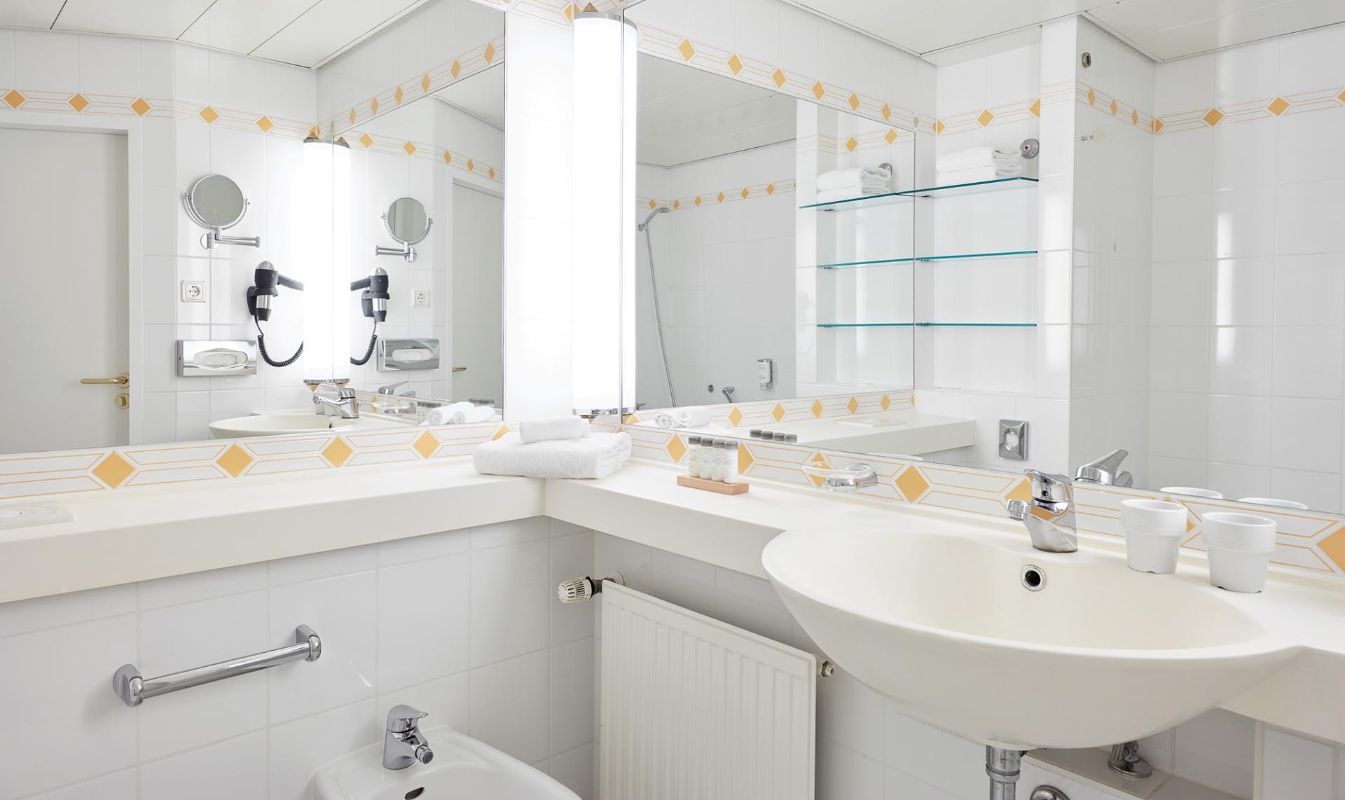 Bathroom at Living Hotel Grosser Kurfurst Apartments, Berlin Mitte, Berlin