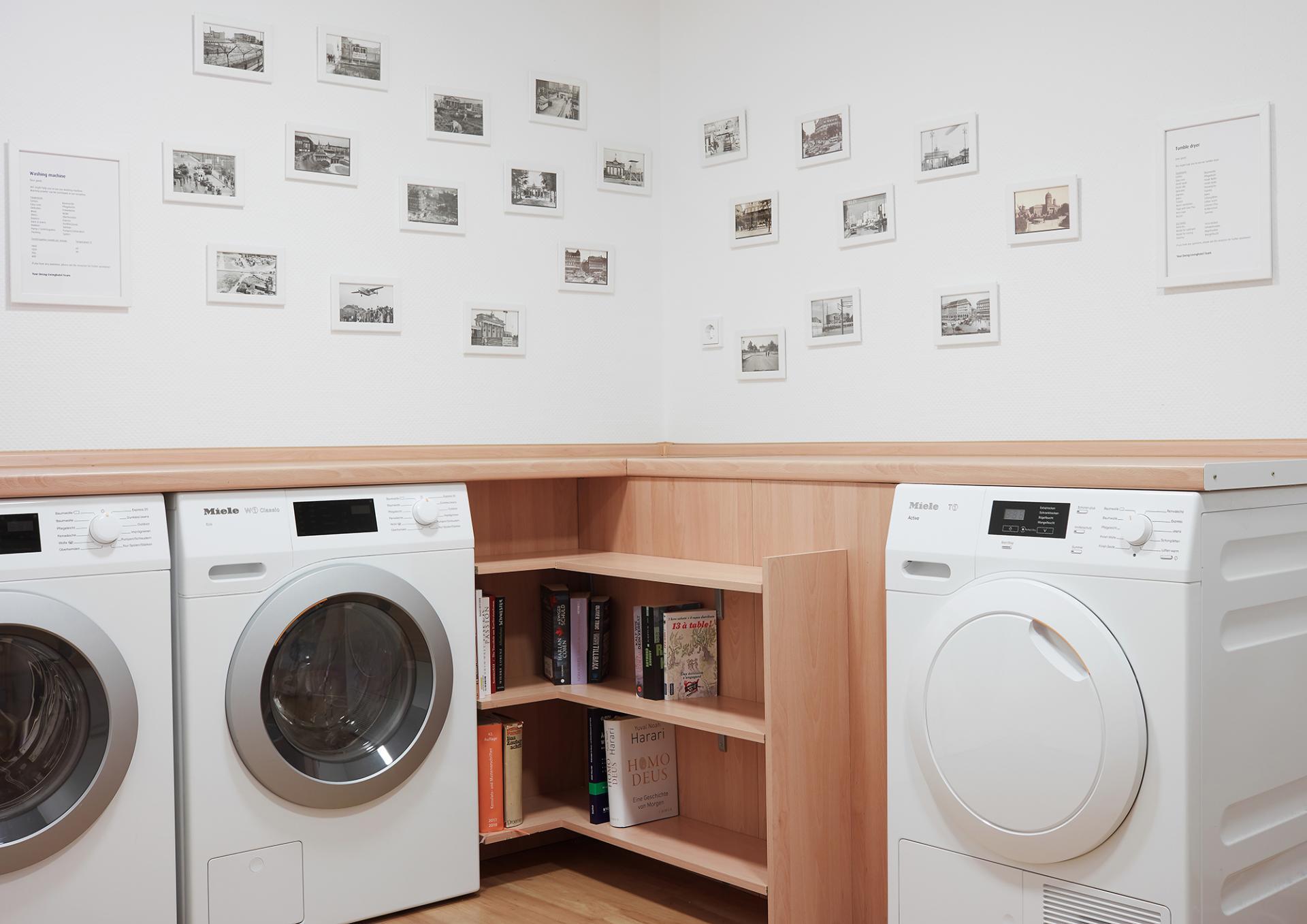 Laundry at Living Hotel Grosser Kurfurst Apartments, Berlin Mitte, Berlin