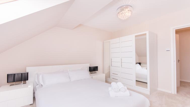 Bedroom at Atlantic Apartments