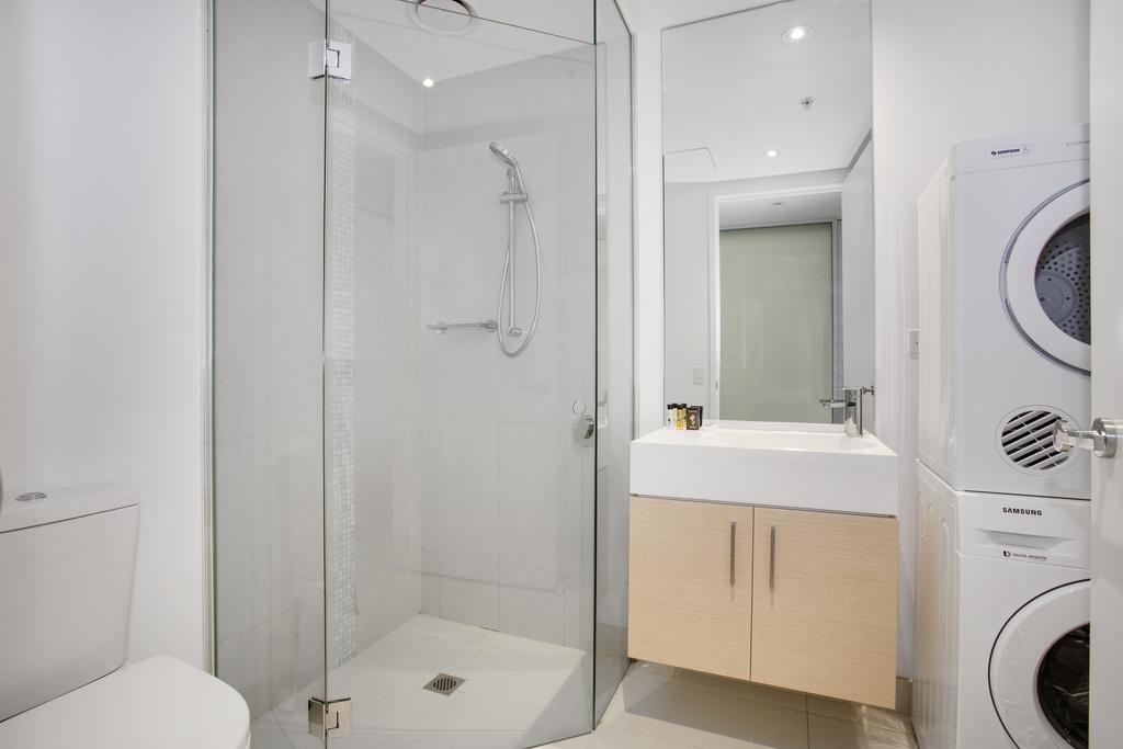 Bathroom at Astra Prima Pearl Apartments