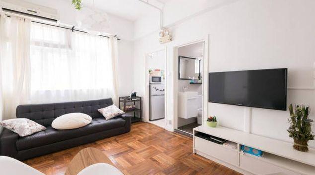 Living room at Tin Hau Apartments