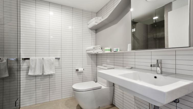 Bathroom at Platinum City Serviced Apartments