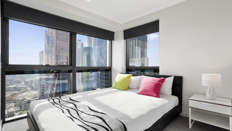 Double bedroom at Platinum City Serviced Apartments