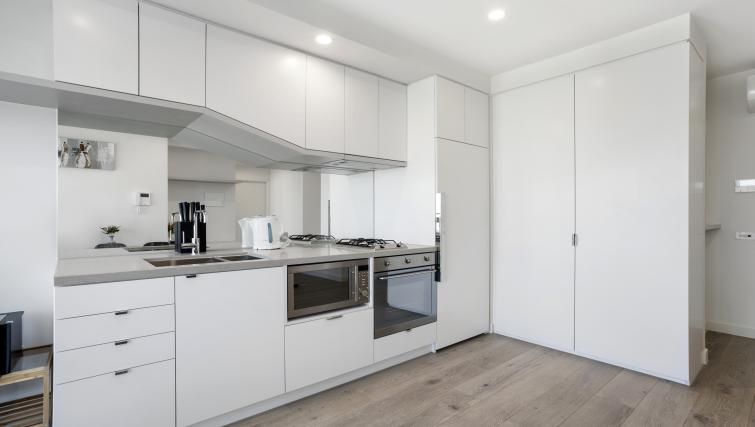 Oven at Platinum City Serviced Apartments