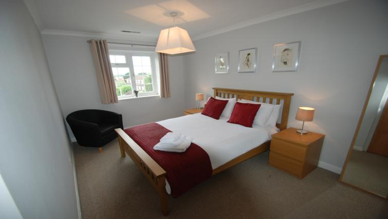 Bedroom at Hillcrest House