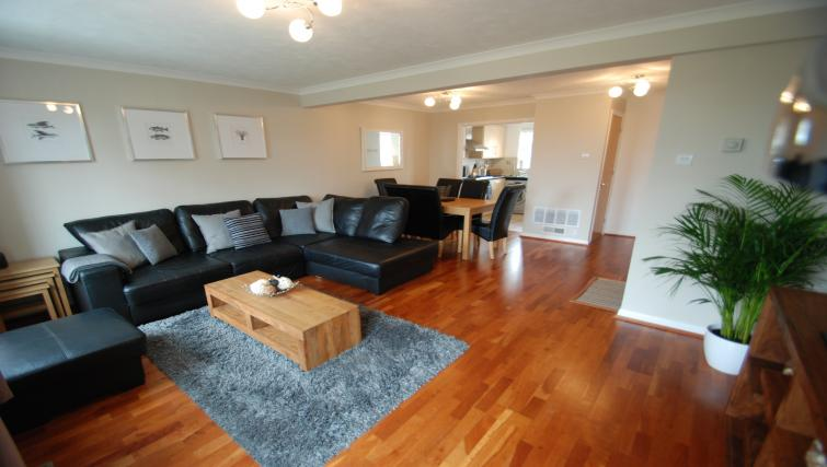Sofa at Hillcrest House
