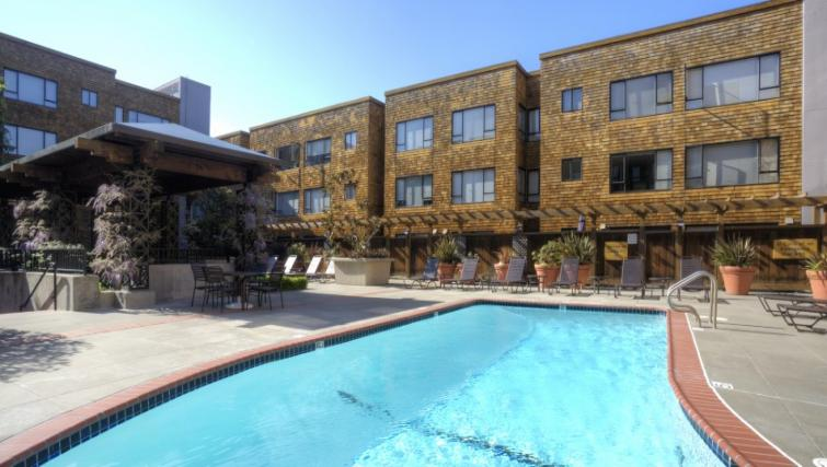 Swimming pool at Marina Cove Apartment