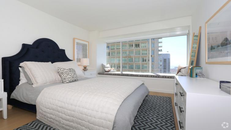 Bedroom at The Paramount Apartment