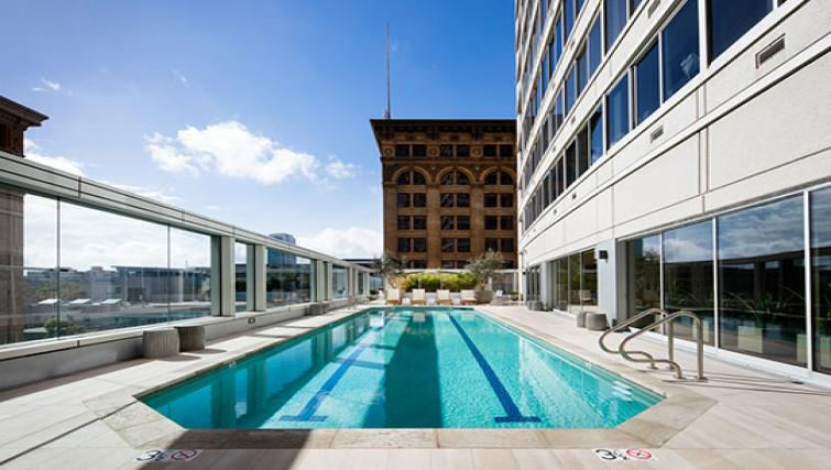 Pool at The Paramount Apartment