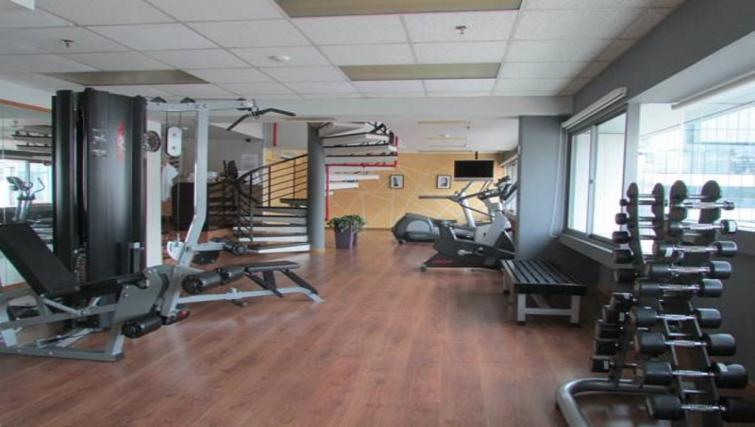 Gym at Orchard Point Serviced Apartments, Singapore