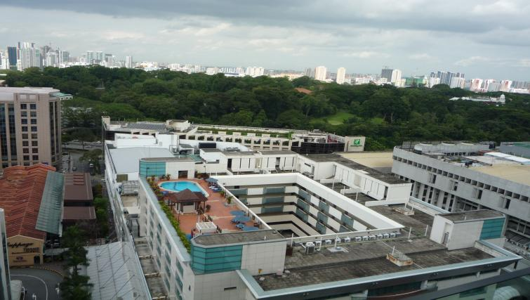 Rooftop at Orchard Point Serviced Apartments, Singapore