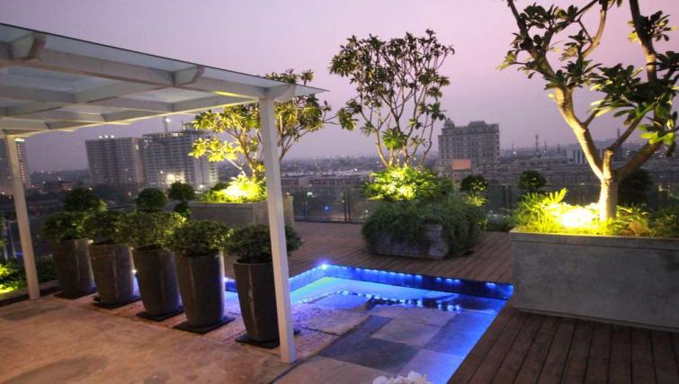 Rooftop at Harvia Suites