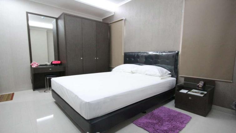Double bedroom at Harvia Suites