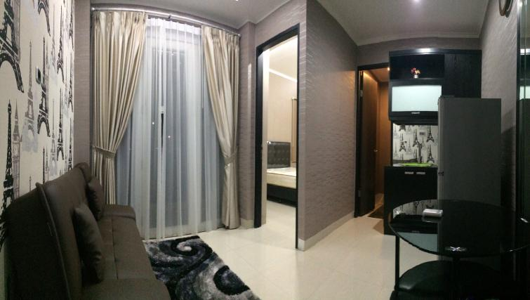 Lounge at Harvia Suites