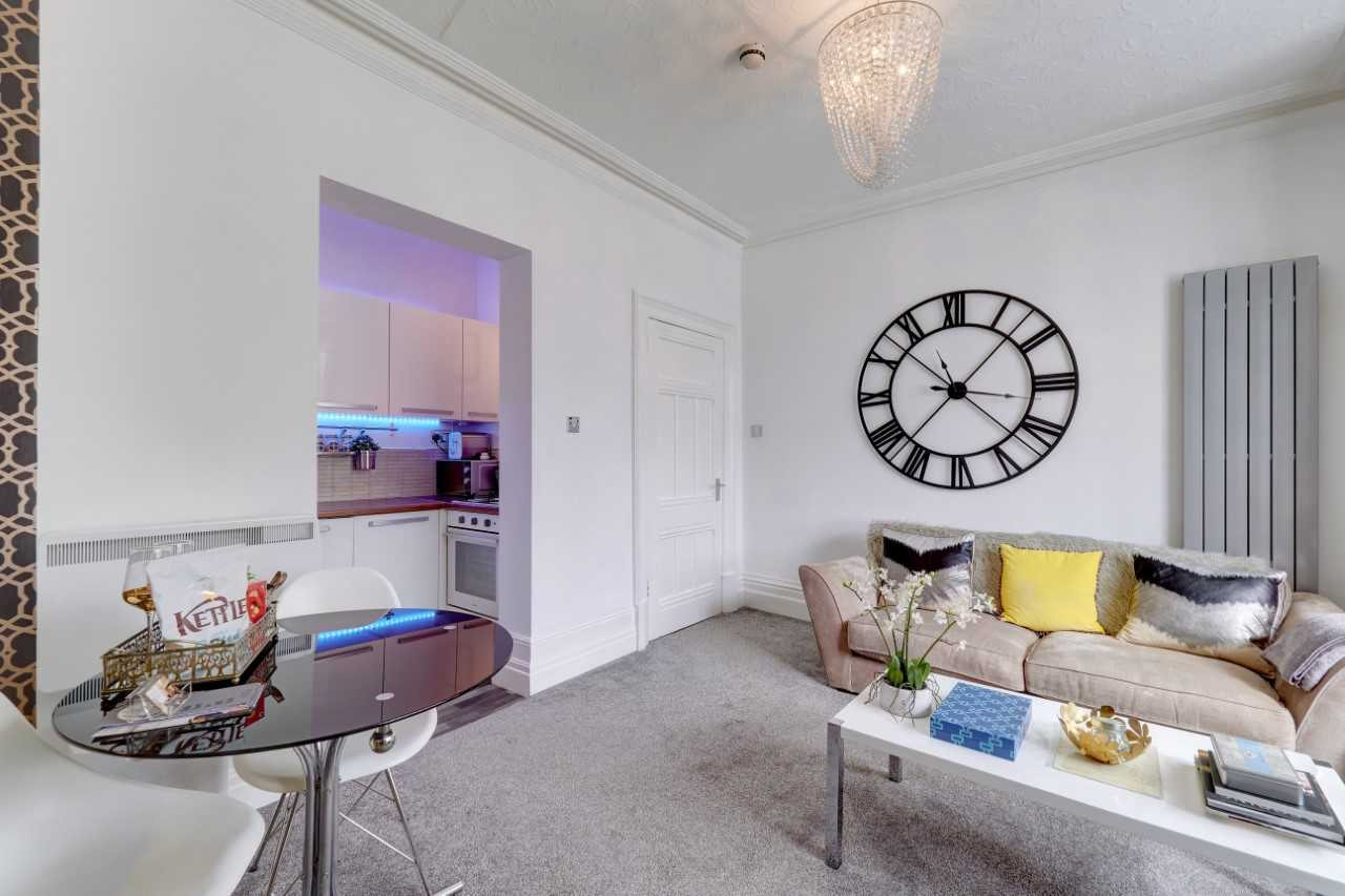Spacious lounge at Mulberry House Apartments