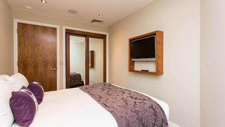 Double bed at The Chambers Park Place