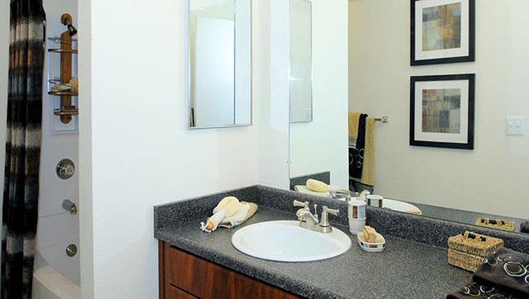 Bathroom at Avalon Mountain View Apartments