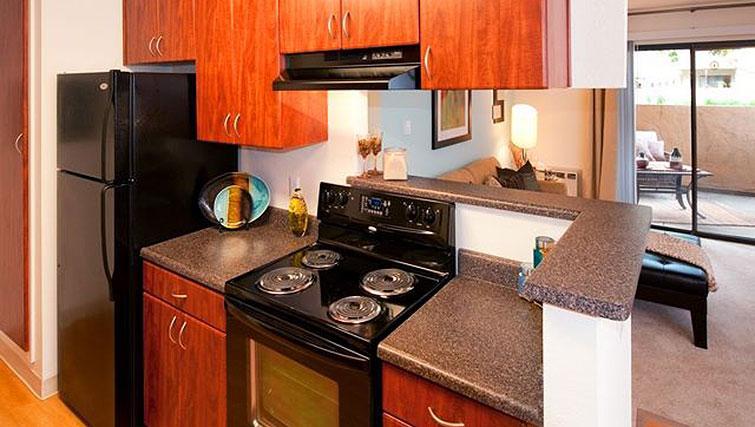 Kitchen at Avalon Mountain View Apartments