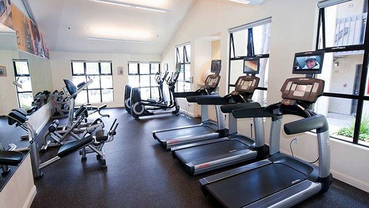 Gym at Avalon Mountain View Apartments