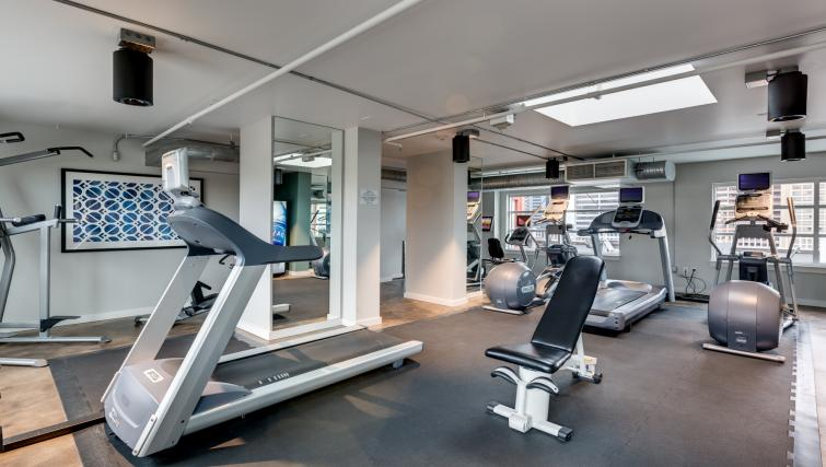 Fitness centre at M Street Apartment