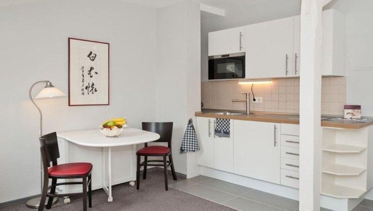 Memorable kitchen in Xenios Apartments